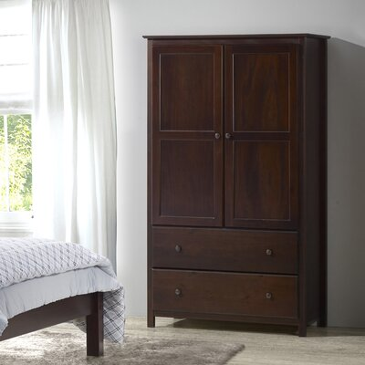 Grain Wood Furniture Shaker Armoire