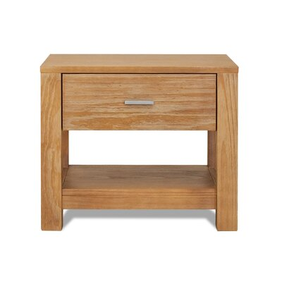 Grain Wood Furniture Loft 1 Drawer Nightstand