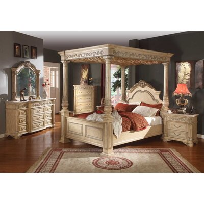 Meridian Furniture USA Sienna Canopy Customizable Bedroom Set