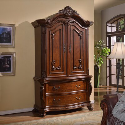 Meridian Furniture USA Luxor Armoire