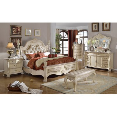 Meridian Furniture USA Monaco Panel Customizable Bedroom Set