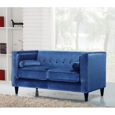 Meridian Furniture USA Taylor Velvet Loveseat