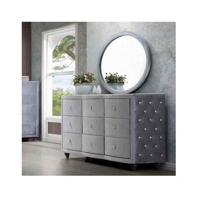 Meridian Furniture USA Hudson 9 Drawer Dr..