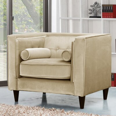 Meridian Furniture USA Taylor Velvet Armchair
