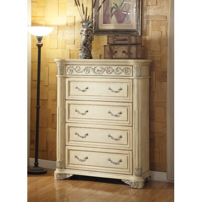 Meridian Furniture USA Sienna 4 Drawer Chest