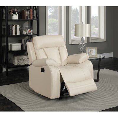 Meridian Furniture USA Avery Leather Glider Recliner