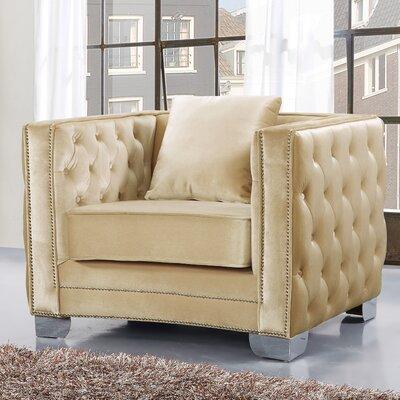 Meridian Furniture USA Reese Velvet Armchair