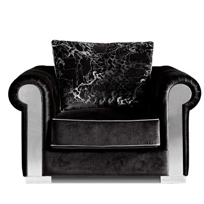 Meridian Furniture USA Electra Velvet Armchair