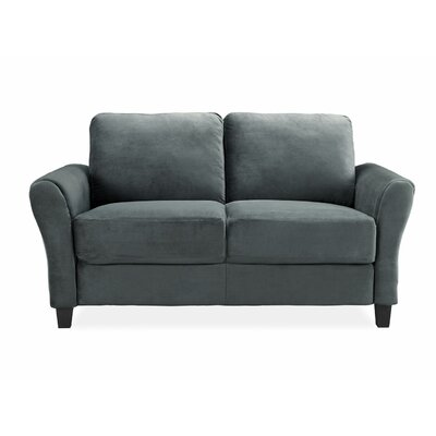 Charlton Home Patricia Rolled Arm Loveseat