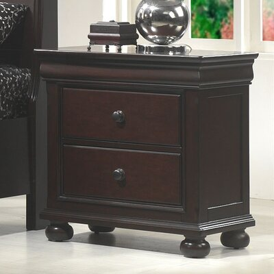 Darby Home Co Cullom 2 Drawer Nightstand