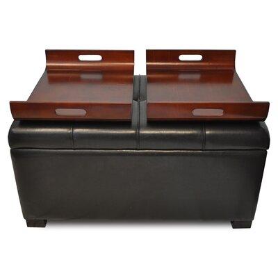 Convenience Concepts Designs 4 Comfort Double Tray Storage Ottoman