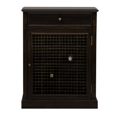 Darby Home Co Biali 16 Bottle Floor Wine Cabinet