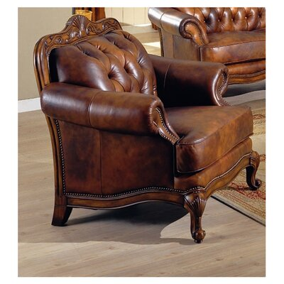 Darby Home Co Smith Leather Armchair