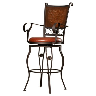 Darby Home Co Woodland Swivel Bar Stool
