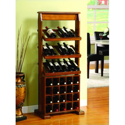 Darby Home Co Medeley 38 Bottle Floor Wine Rack
