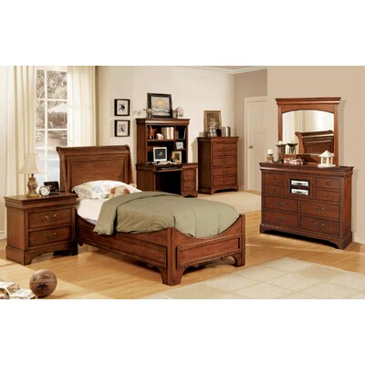 Darby Home Co Twin Panel Customizable Bed..