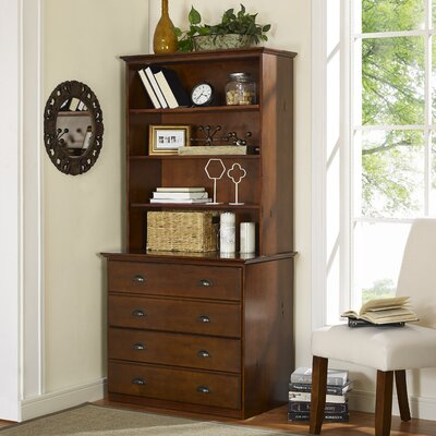 Darby Home Co Metamora 2 Drawer Lateral File with Hutch