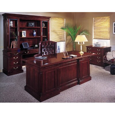 Darby Home Co Leachman Standard Desk Office Suite