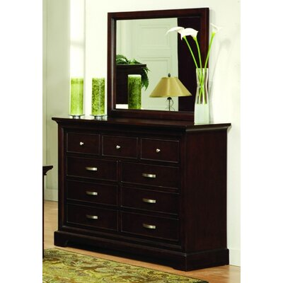 Darby Home Co Troxell Dresser and Mirror Set