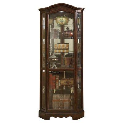 Darby Home Co Ferron Corner Curio Cabinet
