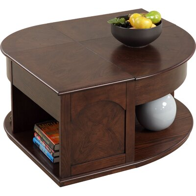 Darby Home Co Wilhoite Coffee Table with Double Lift Top