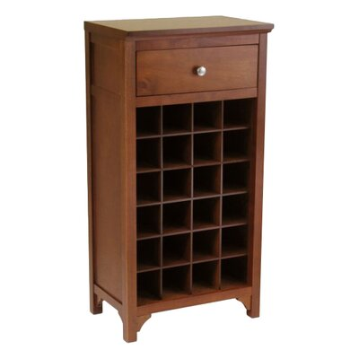 Darby Home Co Kepner 24 Bottle Floor Wine Rack