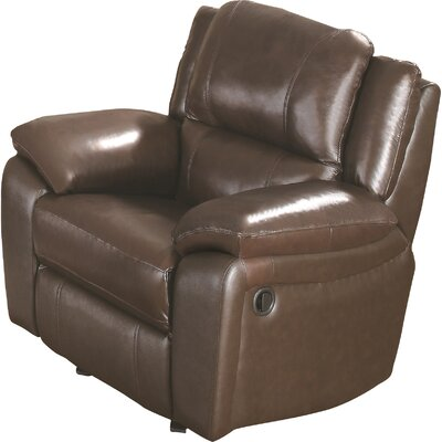 Darby Home Co Baxter Leather Recliner