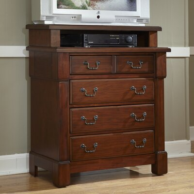 Darby Home Co Cargile 4 Drawer Media Chest