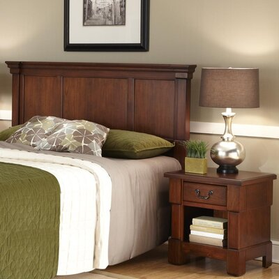 Darby Home Co Cargile Panel 2 Piece Bedroom Set