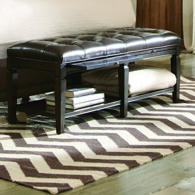 A.R.T. Classic Wood Storage Bedroom Bench