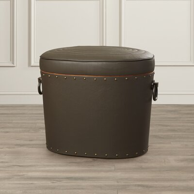 Darby Home Co Leather Storage Ottoman