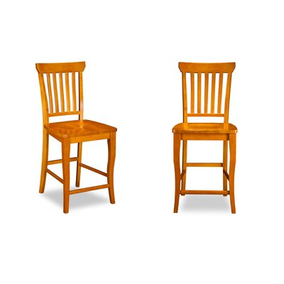 Darby Home Co Oliver Pub Height Dining Chair (Set of 2)