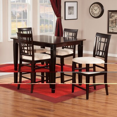 Darby Home Co Bluffview 5 Piece Pub Table Set