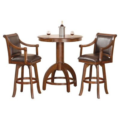 Darby Home Co Shiloh 3 Piece Pub Table Set