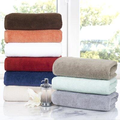 darby home co 6 piece cotton towel set u0026 reviews wayfair - Egyptian Cotton Towels