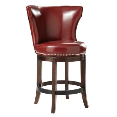 Darby Home Co Nicholas Swivel Bar Stool Image