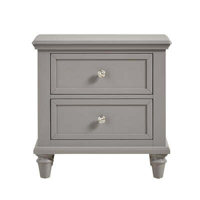 Darby Home Co Isabella 2 Drawer Nightstand