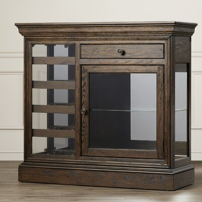 Darby Home Co Bolander Floor Wine Cabinet