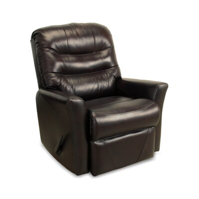 Darby Home Co Westchester Leather Rocker Recliner