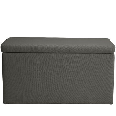 Darby Home Co Abbot Linen Polyeste Upholstered Storage Bedroom Bench