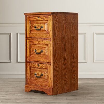 Darby Home Co Southview 3-Drawer Vertical File