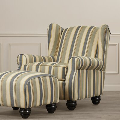 Darby Home Co Brougham Arm Chair and Otto..