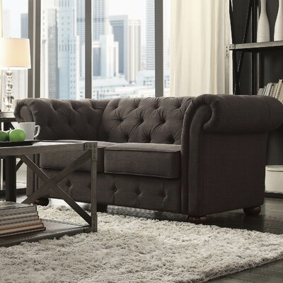 Darby Home Co Conners Tufted Loveseat