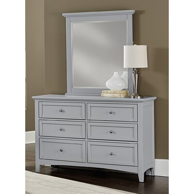 Darby Home Co Blakney 6 Drawer Dresser with Mirror