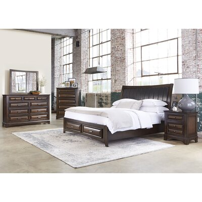 Darby Home Co Aranha Panel Customizable 8 Piece Bedroom Set