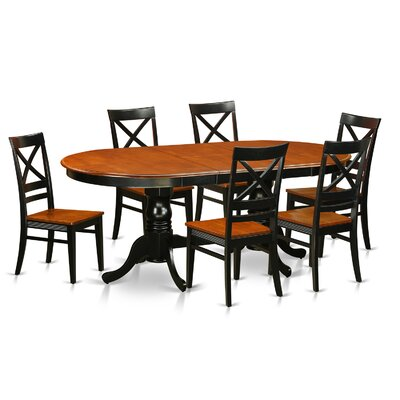 Darby Home Co Germantown 7 Piece Dinin..