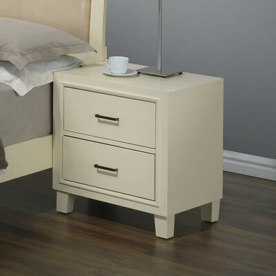 Darby Home Co Acres 2 Drawer Nightstand