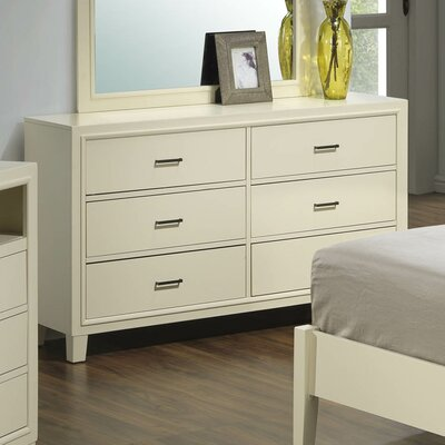 Darby Home Co Acres 6 Drawer Dresser