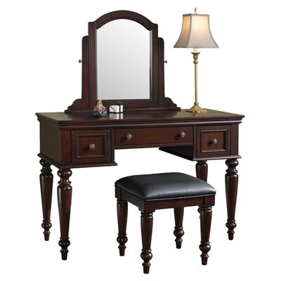 Darby Home Co Linthicum Vanity Set with Mirror