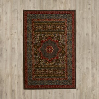 Darby Home Co Alto Blue Red Area Rug Amp Reviews Wayfair